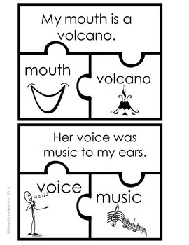 My Mouth Is A Volcano Literacy Activities