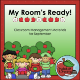 Back-to-School | My Room's Ready! | Classroom Management Bundle