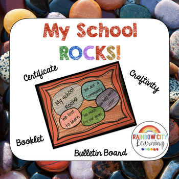 Back to School My School Rocks Rock Garden Activity