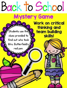 School Murder Mystery Party Games - PlayingWithMurder.com