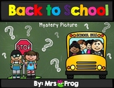 Back to School Mystery Picture