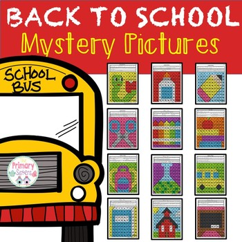 Back to School Mystery Pictures