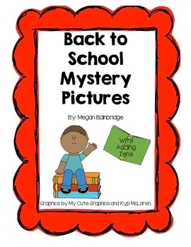 Back to School Mystery Pictures (with adding tens)