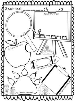 Back to School Owl Mystery Theme Bulletin Board for Kindergarten