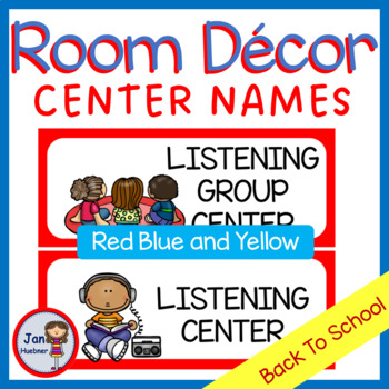 ALL Year Center Names and Numbers