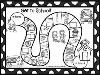 NO PREP Back to School Games Bundle
