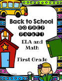 Back to School NO PREP Packet - First Grade