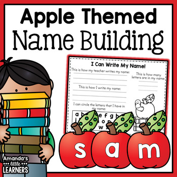 Back to School Name Building Activity - Free