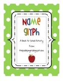 Back to School Name Glyph