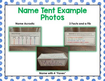 back to school name tent by the science duo teachers pay teachers
