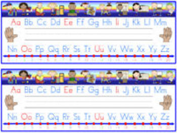 Back to School Nameplates with Learning Tools (primary grades)