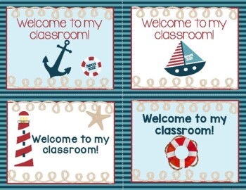 Image result for Welcome to 3rd grade nautical theme