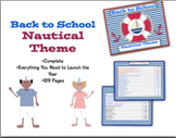 Back to School Nautical Theme