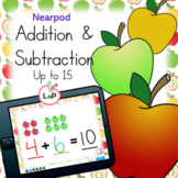 Back to School Nearpod Math Center Addition and Subtractio