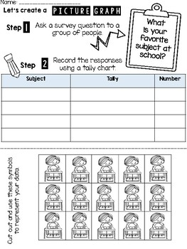 Back to School: New Friends and Their Favorites Data and Picture Graphs