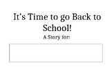 Back to School/New School Social Story