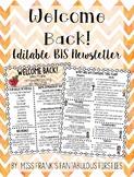 Back to School Newsletter (100% Editable)