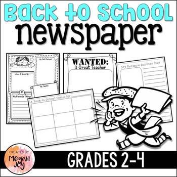 Back to School Newspaper