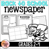 Back to School Newspaper