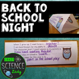 Back to School Night Craftivity