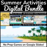 Back to School Night Activities | Digital Summer Games