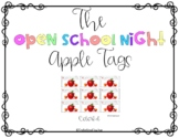 Back to School Night: Apple Tags
