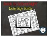 Back to School Night Brag Tag Freebie!