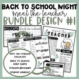 Back to School Night | Bundle #1 | Meet the Teacher | Brochure | Student Handout