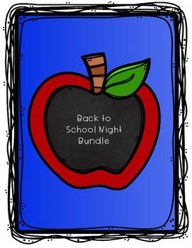 Back to School Night Bundle