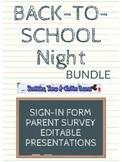 Back-to-School Night Bundle