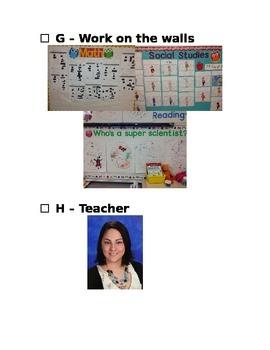 Back to School Night Checklist