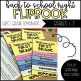 Back to School Night/ Curriculum Night Editable Flip Book