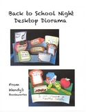 Back to School Night Desktop Diorama