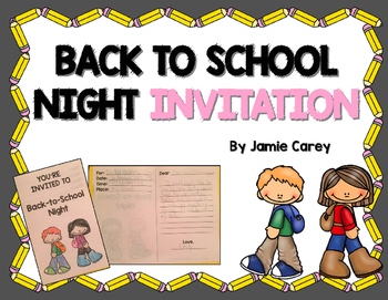 Back-to-School Night Invitation