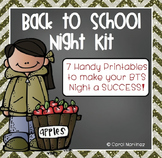Back to School Night Kit {Fall Theme}