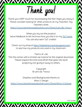 Back to School Night Letter
