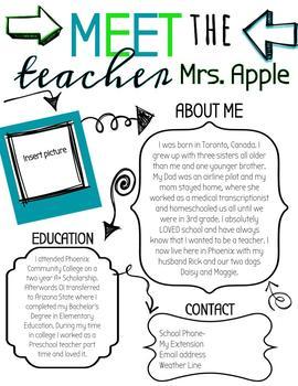 Back to School/Meet the Teacher
