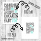 Back to School Night Mint Pun Parent Gift Word Art Teacher Conferences Printable