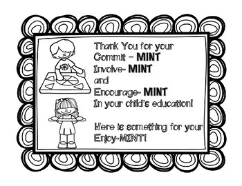 Back to School Night - Mint Sign