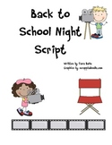 Back to School Night Movie Script Revised