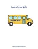 Back to School Night Newsletter