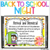 Back to School Night  -  Open House Tropical  *Editable PowerPoint Slideshow*