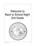 Back to School Night Packet for Parents