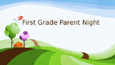 Back to School Night Parent Night Powerpoint Presentation