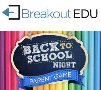 Back to School Night - Parents Game