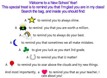 Back to School Night Powerpoint and Resources (EDITABLE)