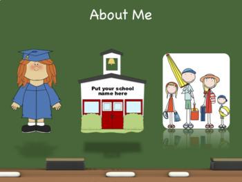 Back to School Night Presentation - Any Grade