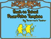 Back to School Night Presentation Template - Editable