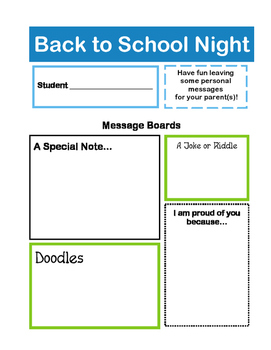 Back to School Night - Secondary & Elementary, Streamlined and Simple!