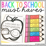 Back to School Night Meet the Teacher Must Haves
